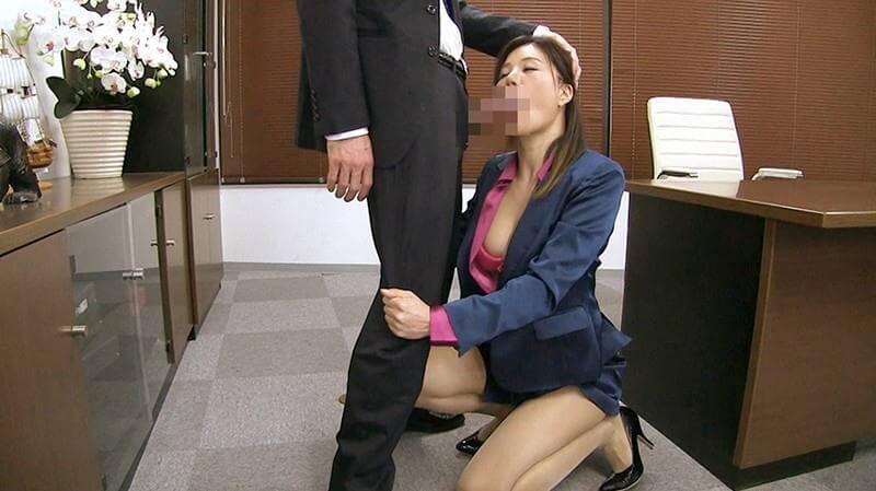 女上司仁美さんの艶やかスーツとツルてろサテンブラウス ~ぶっかけ!つるつるサテン美女ハードコア~ 片瀬仁美