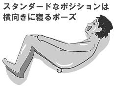 前立腺オナニー時のポジション