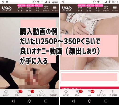 VI-VOの有料オナニー動画