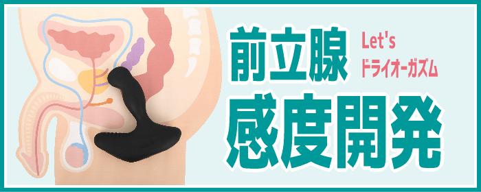 前立腺感度開発の方法とコツ